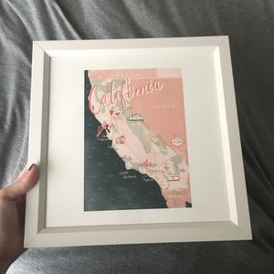 Society6 California Art Print